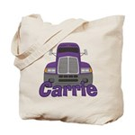 Trucker Carrie Tote Bag