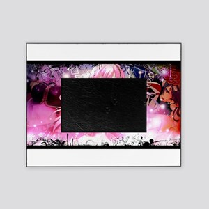 music pink anime Picture Frame