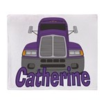 Trucker Catherine Throw Blanket