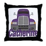 Trucker Catherine Throw Pillow