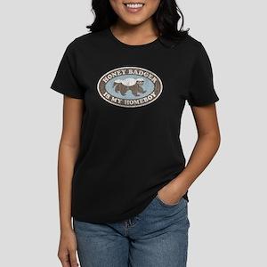 Vintage Honey Badger HB Women's Dark T-Shirt