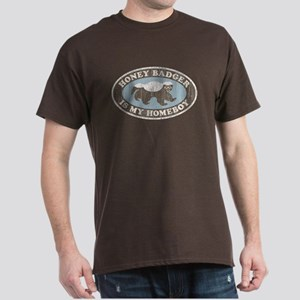 Vintage Honey Badger HB Dark T-Shirt