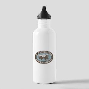 Vintage Honey Badger HB Stainless Water Bottle 1.0