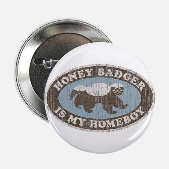 """Vintage Honey Badger HB 2.25"""" Button (10 pack)"""