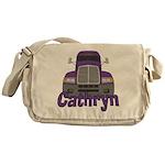 Trucker Cathryn Messenger Bag
