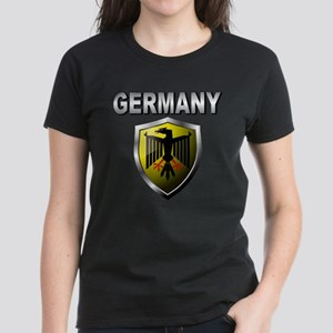 Germany World Cup Soccer Women's Dark T-Shirt