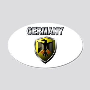 Germany World Cup Soccer 22x14 Oval Wall Peel