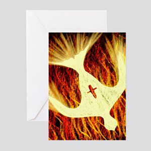 Spirit on Fire Greeting Cards (Pk of 10)