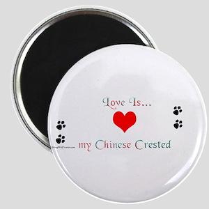 Crested Love Magnet