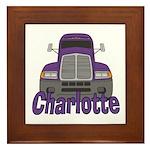 Trucker Charlotte Framed Tile
