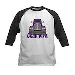 Trucker Chaundra Kids Baseball Jersey