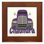 Trucker Chaundra Framed Tile