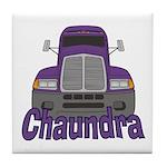 Trucker Chaundra Tile Coaster
