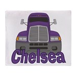 Trucker Chelsea Throw Blanket