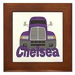 Trucker Chelsea Framed Tile
