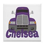 Trucker Chelsea Tile Coaster