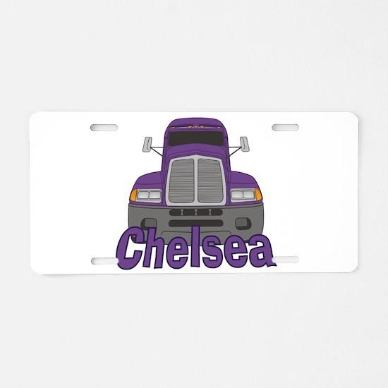 Trucker Chelsea Aluminum License Plate