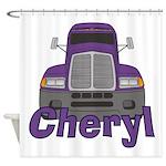 Trucker Cheryl Shower Curtain