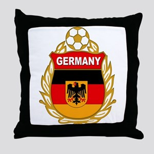 Germany World Cup Soccer Throw Pillow