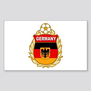 Germany World Cup Soccer Sticker (Rectangle)