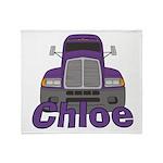 Trucker Chloe Throw Blanket