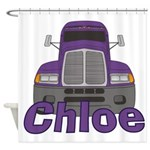 Trucker Chloe Shower Curtain