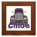 Trucker Chloe Framed Tile