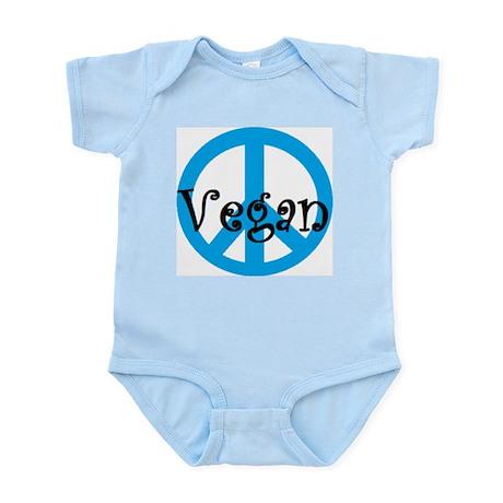 peace vegan Infant Bodysuit