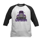 Trucker Christen Kids Baseball Jersey