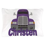 Trucker Christen Pillow Case