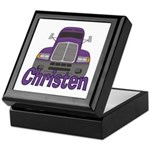 Trucker Christen Keepsake Box