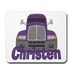 Trucker Christen Mousepad