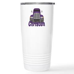 Trucker Christen Stainless Steel Travel Mug
