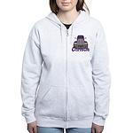 Trucker Christie Women's Zip Hoodie