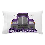 Trucker Christie Pillow Case
