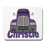Trucker Christie Mousepad