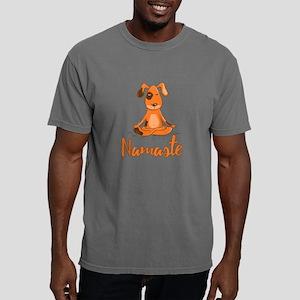 Namaste Yoga Dog Mens Comfort Colors Shirt