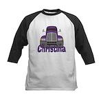 Trucker Christina Kids Baseball Jersey
