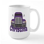 Trucker Christina Large Mug
