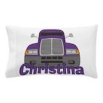 Trucker Christina Pillow Case