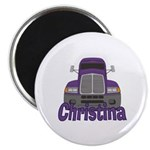 Trucker Christina Magnet