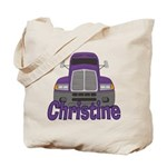 Trucker Christine Tote Bag