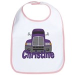 Trucker Christine Bib