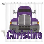 Trucker Christine Shower Curtain