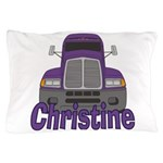 Trucker Christine Pillow Case