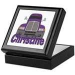 Trucker Christine Keepsake Box