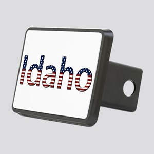 Idaho Stars and Stripes Rectangular Hitch Cover