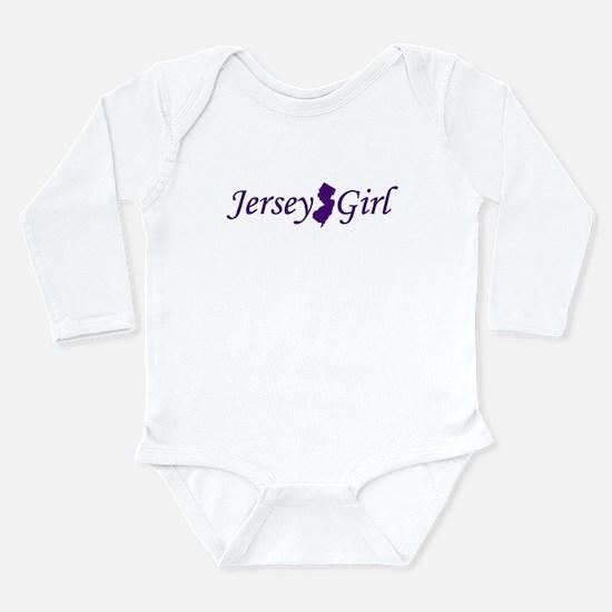 Cute New jersey girl Long Sleeve Infant Bodysuit