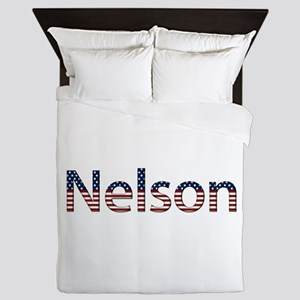 Nelson Stars and Stripes Queen Duvet