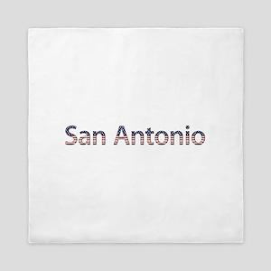 San Antonio Stars and Stripes Queen Duvet